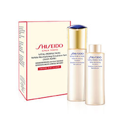 Shiseido VITAL PERFECTION White Revitalizing Emulsion With Refill Set