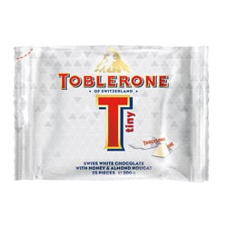 Toblerone Tiny White Bag 200g