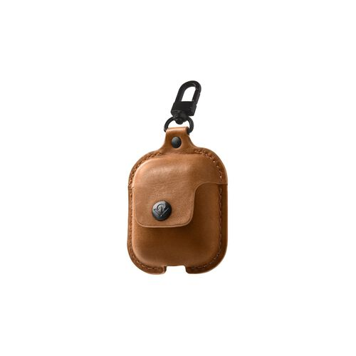 Airfly AirSnap for AirPods  Cognac