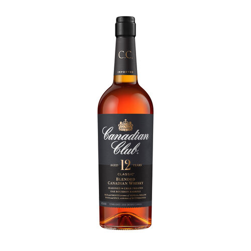 Canadian Club 12 Year Old Whisky 1L