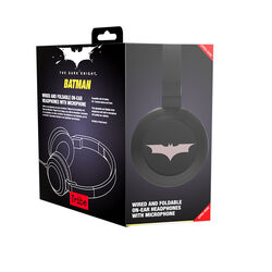Tribe Batman Pop Wired Headphones with Microphone