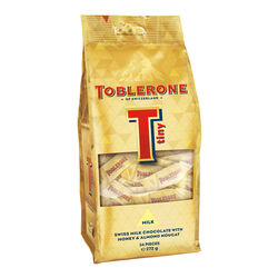 Toblerone Tiny Milk Bag 272g Gold