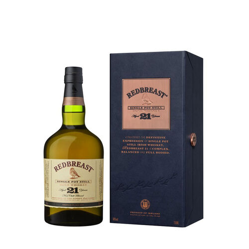 Redbreast Single Pot Still 21 Years Old 70cl
