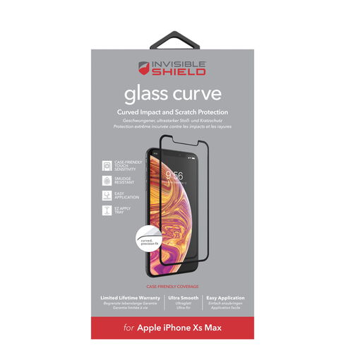 ZAG InvisibleShield Glass Curve for iPhone Xs Max