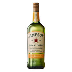 Jameson Triple Triple Irish Whiskey 1L Travel Exclusive