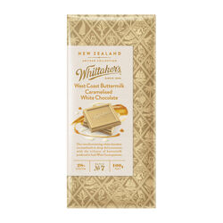Whittakers West Coast Butter Milk Caramel White Choc 100g