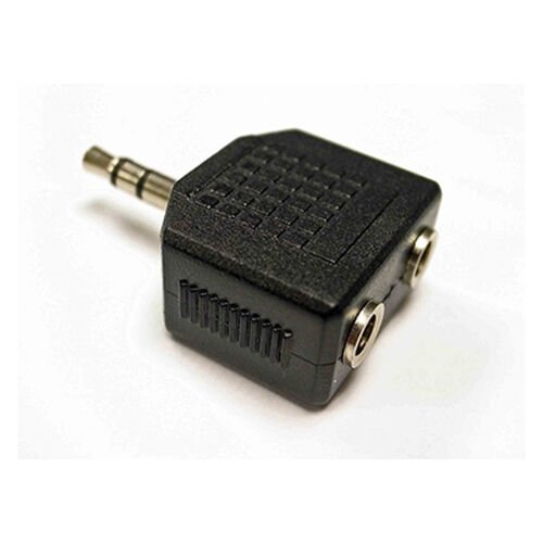 TravelMate 3.5MM - 2X 3.5MM Stero Jack Adaptor