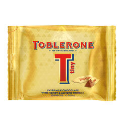 Toblerone Tiny Gold Bag 200g