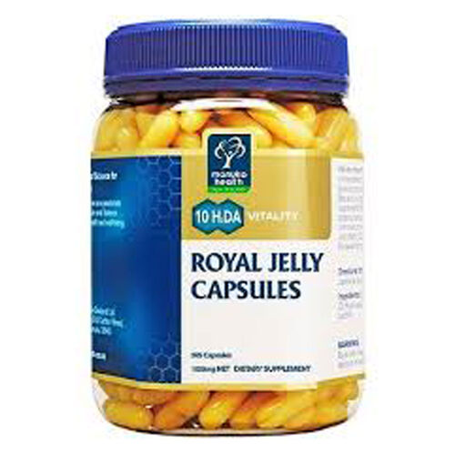 Manuka Health Royal Jelly Capsules 365
