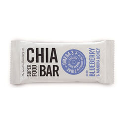 Health Discovery Blueberry & Manuka Honey Chia Bar 40g