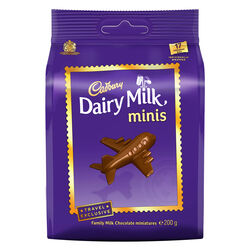 Cadbury Dairy Milk Chunks Bag 200g
