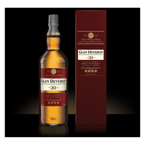 Glen Deveron 20 Year Old Whisky 1L