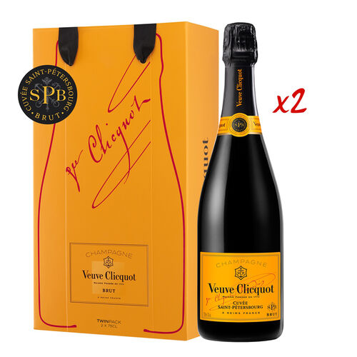 Veuve Clicquot Veuve Clicquot St Petersbourg Twin Pack 2 x 0.75L