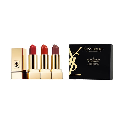YSL Trio Rouge Pur Couture