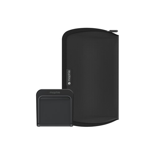 Mophie charge stream™ global travel kit Compact, universal wireless charging kit for global travel