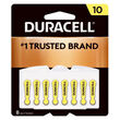 Duracell Hearing Aid Battery S10 8 Pack