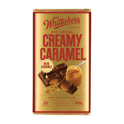 Whittakers Creamy Caramel 250g