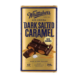 Whittakers Dark Salted Caramel 250g