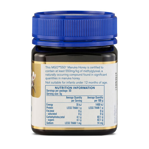Manuka Health MGO 550+ Manuka Honey 250g