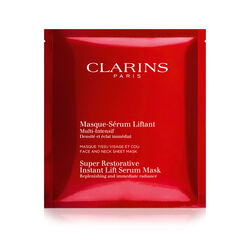 Clarins Super Restorative Instant Lift Serum-Mask (5 Sachets)