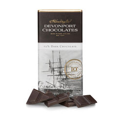 Devonport Gourmet Village Heritage Bar Luxurious 72% Cocoa Solids