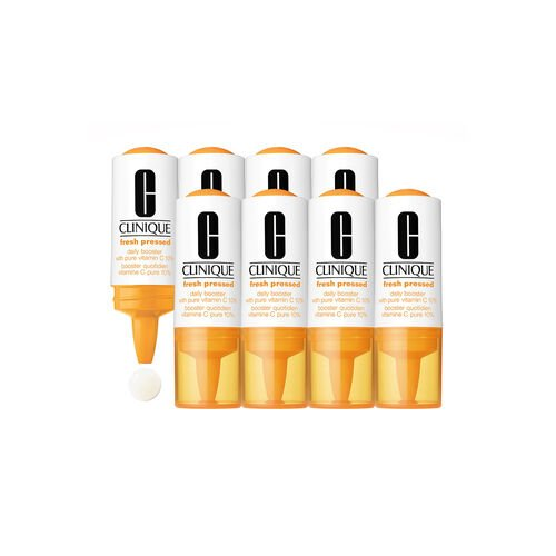 Clinique Fresh Pressed Daily Booster with Pure Vitamin C 10% (8 pack)