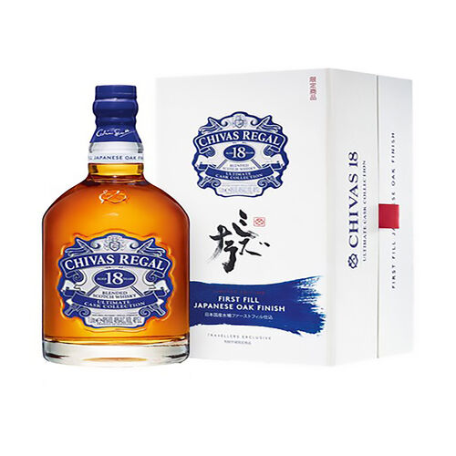Chivas 18 Year Old UCC Japanese Oak  1l