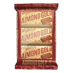 Whittakers Almond Gold 3 Pack