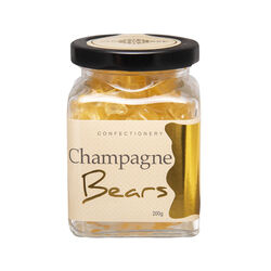 Sugar Crave Champagne Gummy Bears Jar 200g