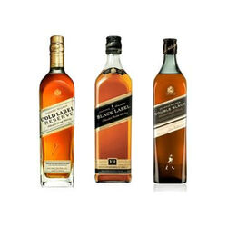 Johnnie Walker Trio Pack 3x2.15L