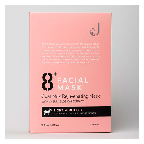 Jema Rose 8+ Minute Goat Milk Rejuvenating Mask
