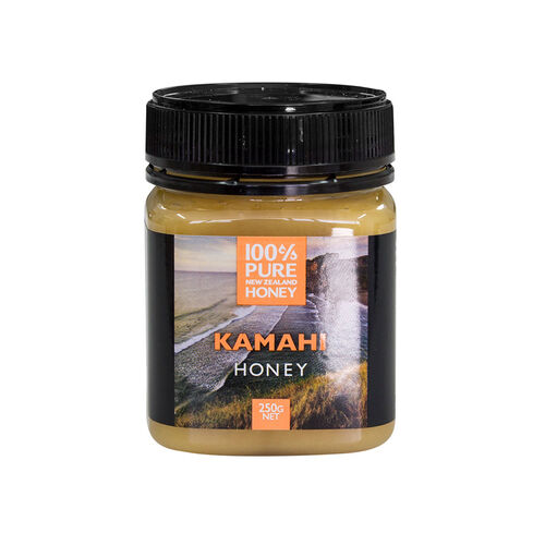 100% New Zealand Honey Kamahi Honey 250g