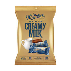 Whittakers Mini Creamy Milk Slab 180g