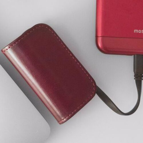 Moshi IonBank 3K  with Lightning/USB cable (Red)
