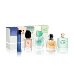 Armani Woman Fragrance Miniature Set Travel Exclusive