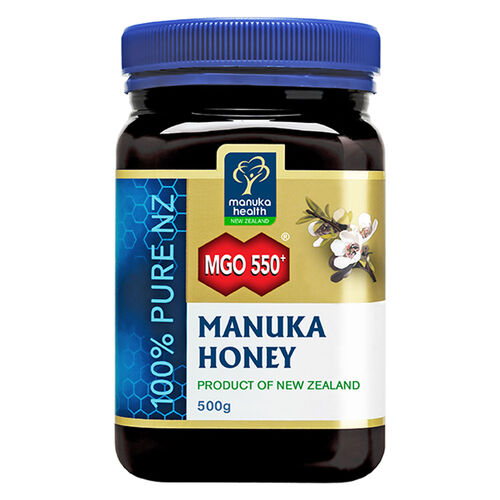 Manuka Health MGO 550+ Manuka Honey 500g