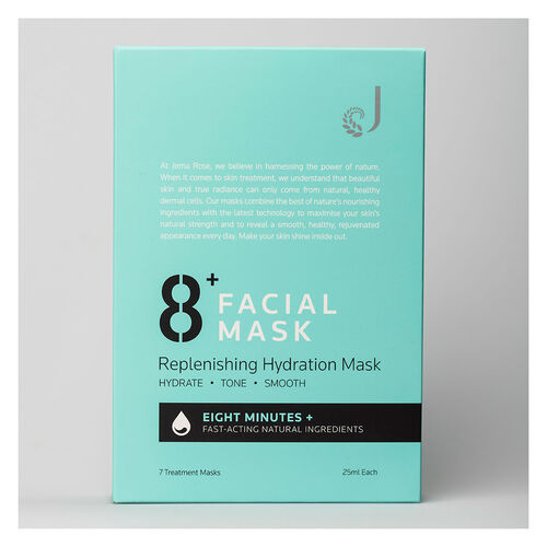 Jema Rose 8+ Minute Replen Hydration Mask 7 Pack