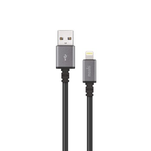 Moshi USB Cable  with Lightning Connector (3M) (Black)