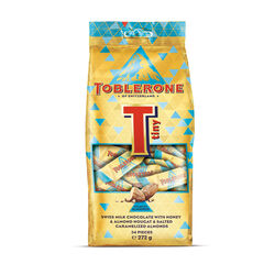 Toblerone Tiny Crunchy Almond Bag 272g