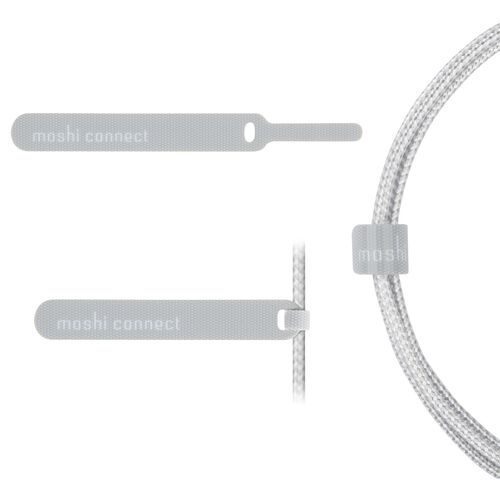 Moshi Integra USB-C Charge/Sync Cable  with Lightning Connector 1.2 m (Grey)