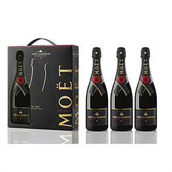 Moët & Chandon Res Imp Tripack 3x750ml