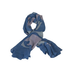 Kia Kaha Women's Scarf Colour Royal