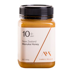 Three Peaks Three Peaks Manuka Honey UMF10+ 500g ULTRA-PREMIUM Manuka By Three Peaks