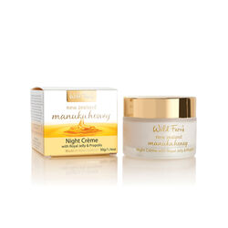 Wild Ferns Manuka Gold Night Cream with Propolis & Royal Jelly 50g