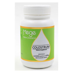 Mege Colostrum 122000Mg 200 Tablets